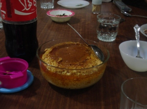 Creme Brulee at my friend's home