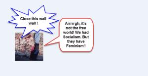 Berlin wall feminism socialism