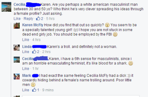 Feminists don't get sarcasm
