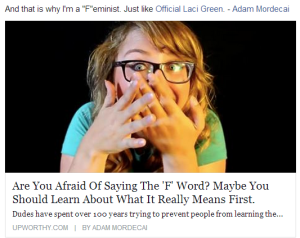 Laci Green Feminist propaganda