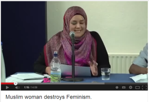 muslim woman destroys feminism2