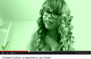 sexual pose Laci Green