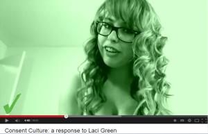 sexual pose Laci Green